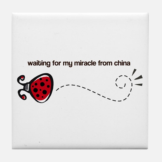 Waiting for my Miracle Tile Coaster