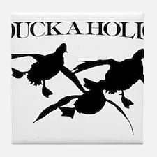 Duckaholic Tile Coaster