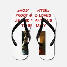 ghost hunter Flip Flops