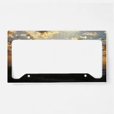 Myrtle Beach Sunrise License Plate Holder