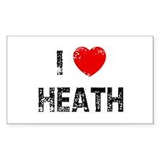 I * Heath Rectangle Decal