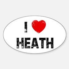 I * Heath Oval Decal