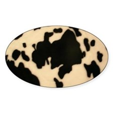 Dairy Cow Print Decal