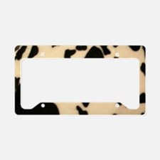 Dairy Cow Print License Plate Holder