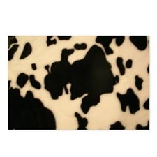 Dairy Cow Print Postcards (Package of 8)