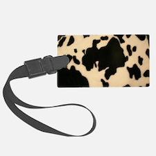 Dairy Cow Print Luggage Tag