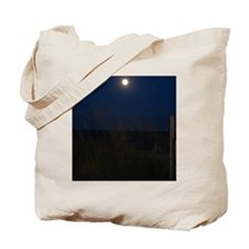 Moonrise Over Tranquil Seas Tote Bag