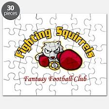 Fighting Squirrels Fantasy Football Champions Puzz