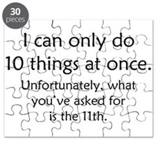 Ten Things At Once Puzzle