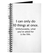 Ten Things At Once Journal