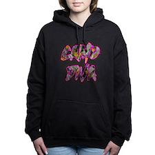 Camo Diva- Pink Hooded Sweatshirt