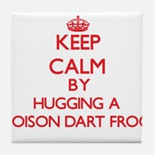 Keep calm by hugging a Poison Dart Frog Tile Coast