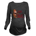 Not A Party Until Kielbasa Long Sleeve Maternity T