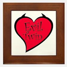Evil Twin Framed Tile