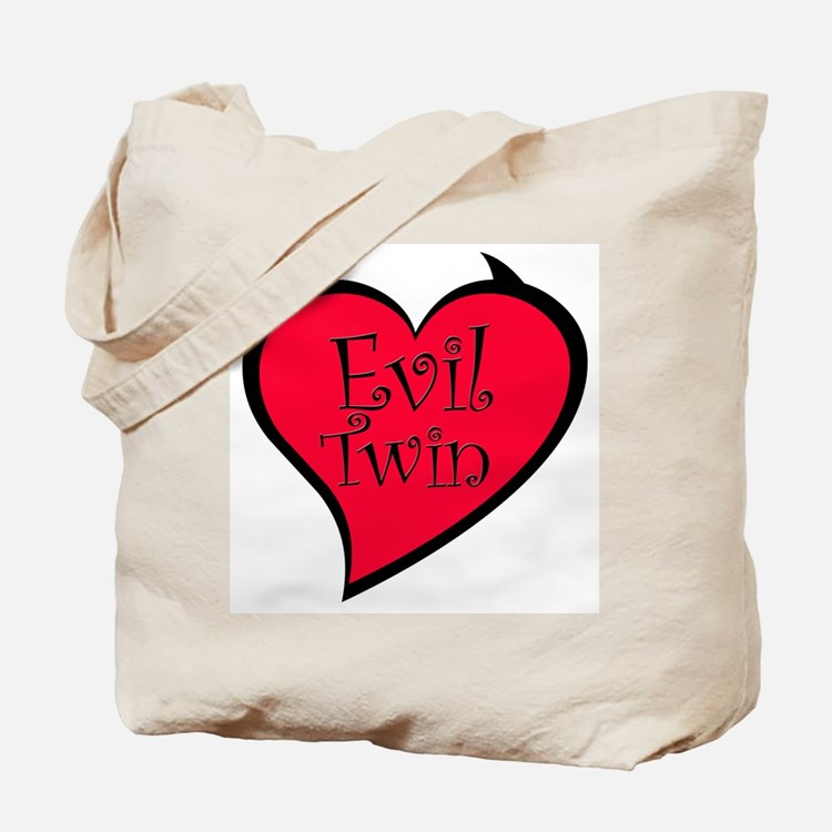 Evil Twin Tote Bag