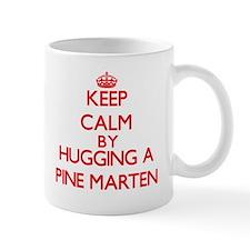 Keep calm by hugging a Pine Marten Mugs