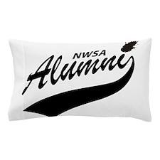 NWSA Alumni Swoosh No Pigeon Pillow Case