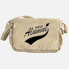 NWSA Alumni Swoosh No Pigeon Messenger Bag