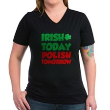 Irish Today Polish Tomorrow T-Shirt