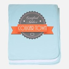 Certified Addict: Cougar Town Infant Blanket