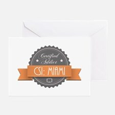 Certified Addict: CSI: Miami Greeting Cards (10 pa