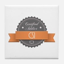 Certified Addict: CSI Tile Coaster