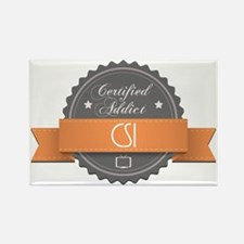 Certified Addict: CSI Rectangle Magnet