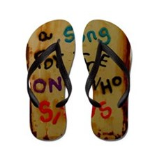 a songs for the one who sings Flip Flops