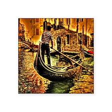 """Venice , Italy Square Sticker 3"""" x 3"""""""