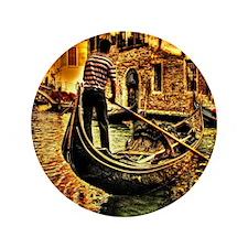"""Venice , Italy 3.5"""" Button"""