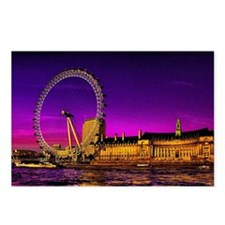 London Eye Postcards (Package of 8)