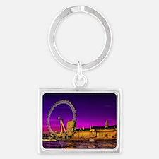 London Eye Landscape Keychain
