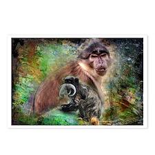 Monkeys Postcards (Package of 8)
