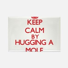 Keep calm by hugging a Mole Magnets