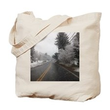 Winter Snow in RI Tote Bag