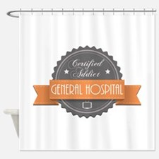 Certified Addict: General Hospital Shower Curtain