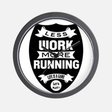 Less work more Running Wall Clock