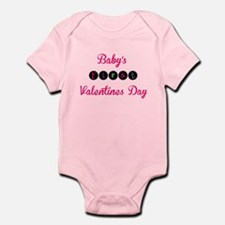 Babys first valentines day Body Suit