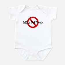 Anti Lettuce And Tomato Infant Bodysuit