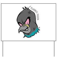 NWSA Pigeon Head Yard Sign