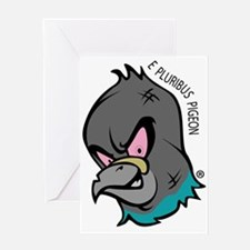 NWSA Pigeon Head Greeting Cards