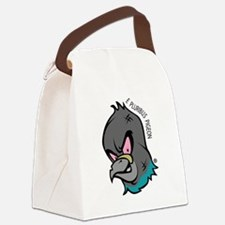 NWSA Pigeon Head Canvas Lunch Bag