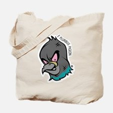 NWSA Pigeon Head Tote Bag