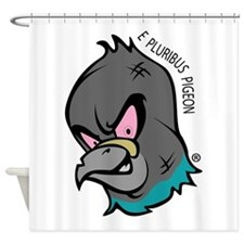 NWSA Pigeon Head Shower Curtain