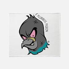 NWSA Pigeon Head Throw Blanket