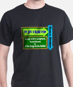 Bloke From Down Under T-Shirt