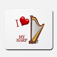 I Love My HARP Mousepad