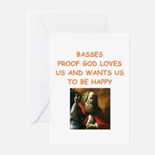 bass Greeting Cards