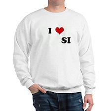 I Love           SI Sweatshirt