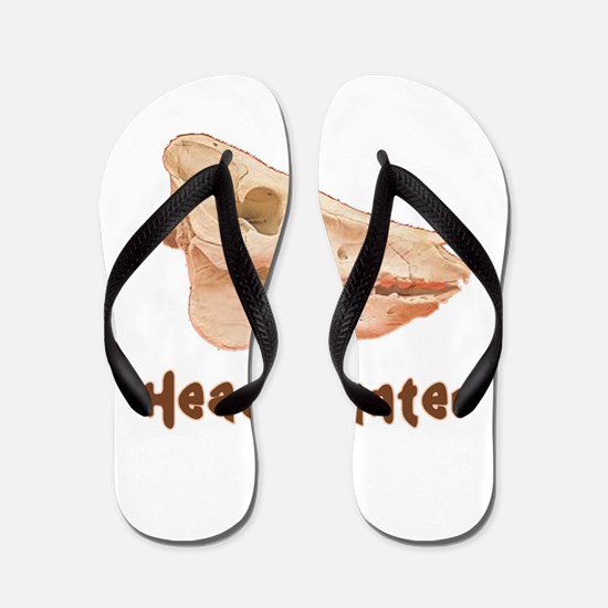 Pig Head Hunter Flip Flops